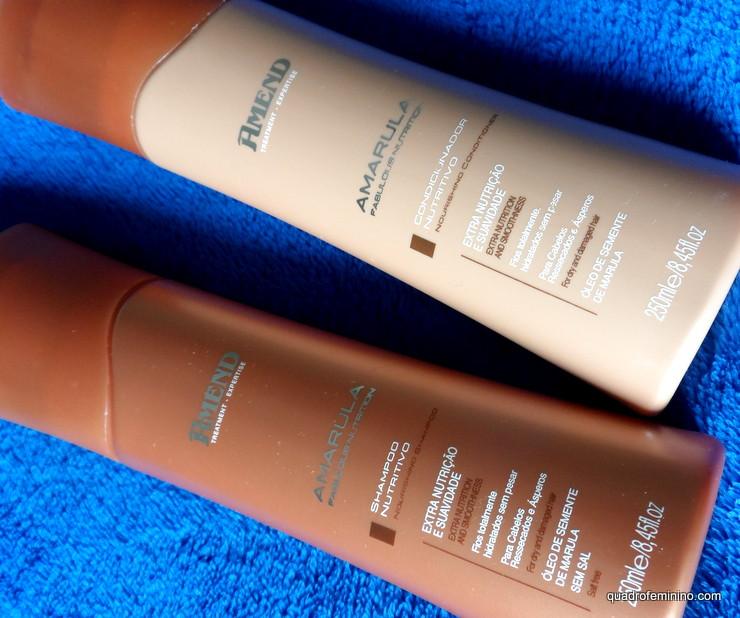 Shampoo e Condicionador Amend Amarula Fabulous Nutrition