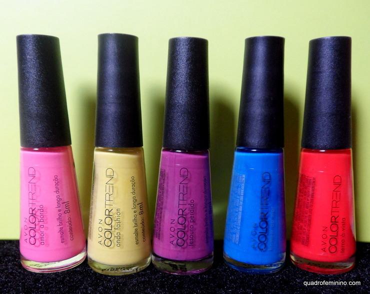 Coleção Entre Nessa Onda Avon Color Trend