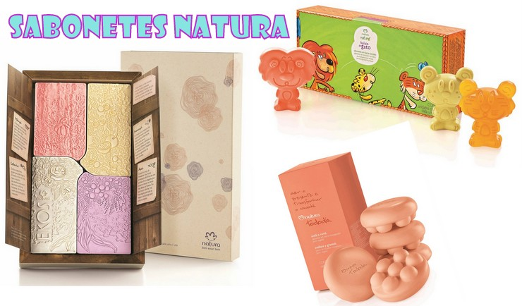 Sabonetes Natura