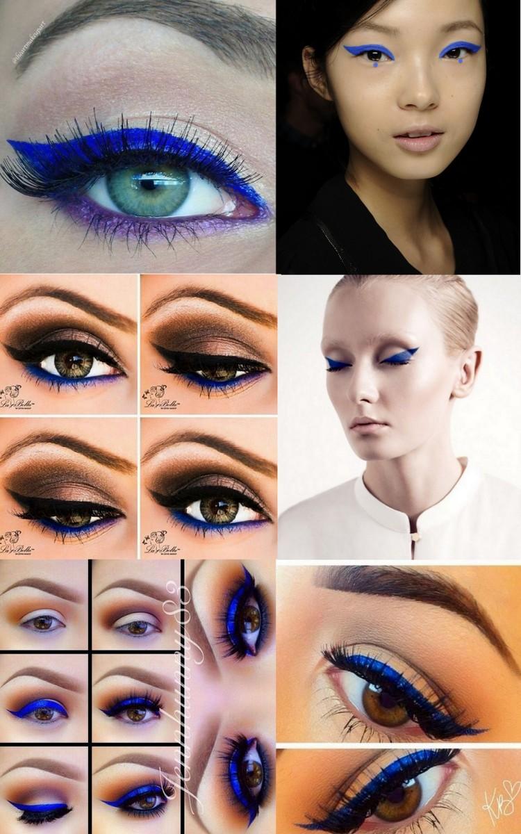 Delineados - electric blue