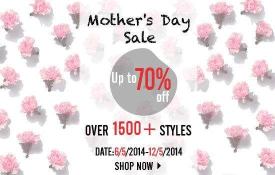 Mother's Day Sale Romwe