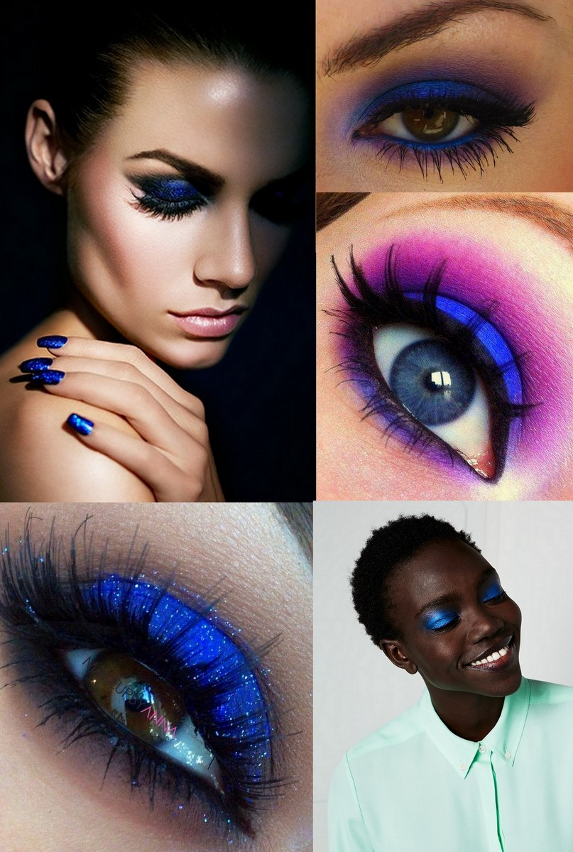 Sombras - electric blue