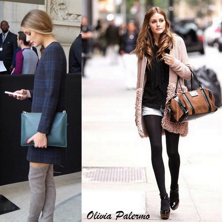 Looks para o inverno - Olivia Palermo