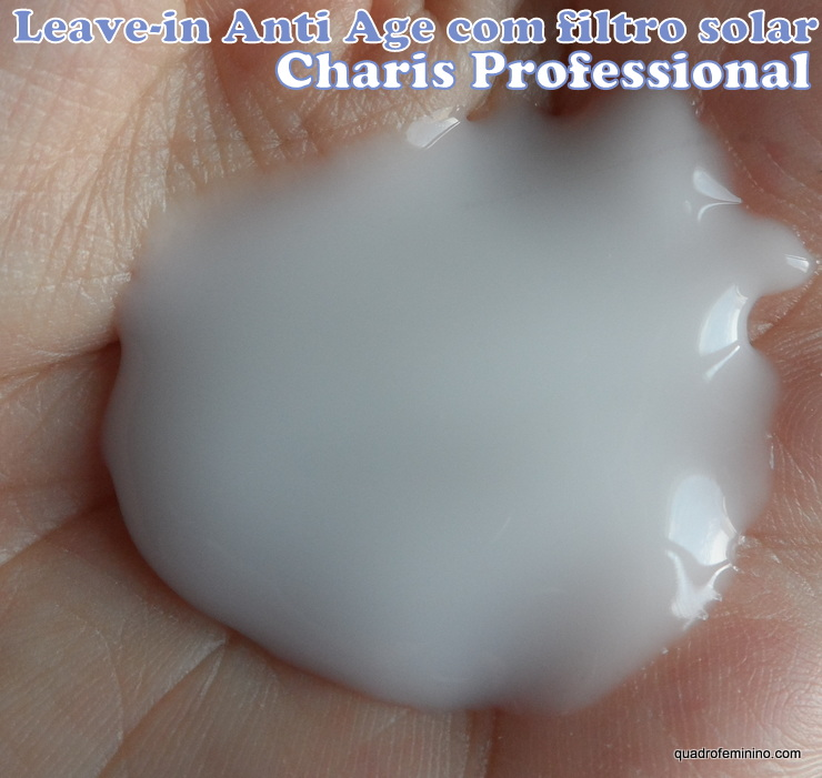 Leave-in com filtro solar Anti Age Charis Professional (2)