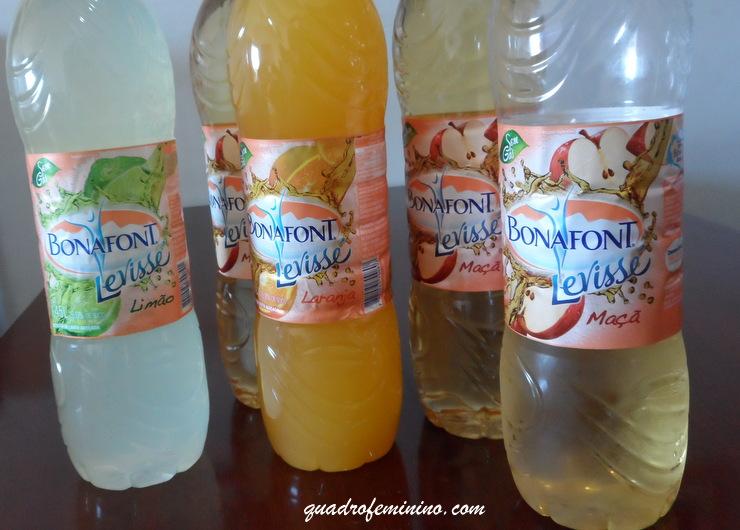 Levisse Bonafont - laranja, maçã e limão