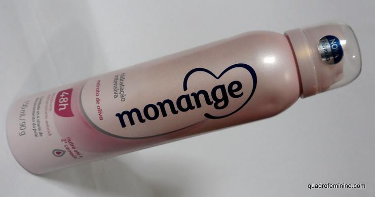Desodorante Aerosol Extrato de Oliva Monange
