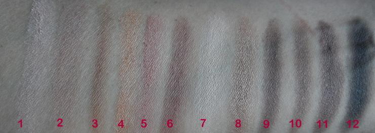 Paleta de Sombras Neutras De Beaute Profusion (2)