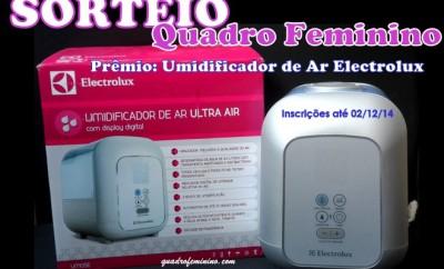 Sorteio - Umidificador de Ar Ultra Air da Electrolux