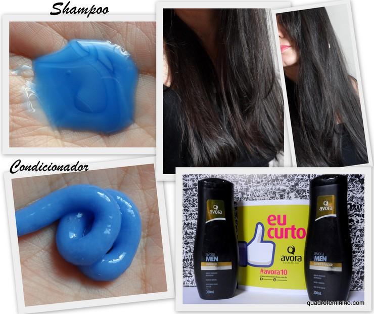 Avora Men - Shampoo e condicionador Cabelos Brancos e Grisalhos