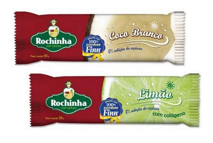 Finn e Rochinha - Picolé Coco e Limão