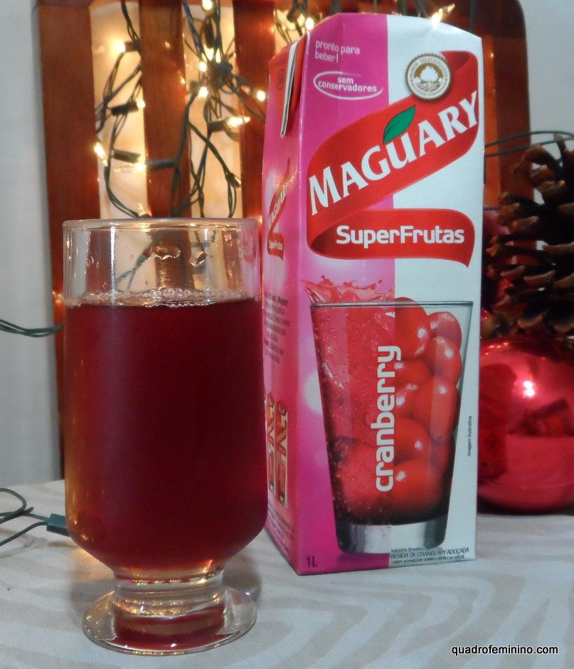 Suco de Cranberry Maguary SuperFrutas