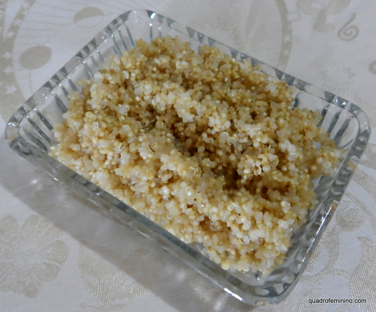 Quinoa em grãos cozida - Jasmine