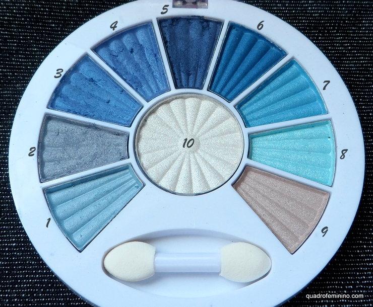 Ten Palette Soft 02 - Fenzza Make up
