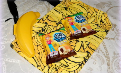 Bolinhos Ana Maria banana com chocolate