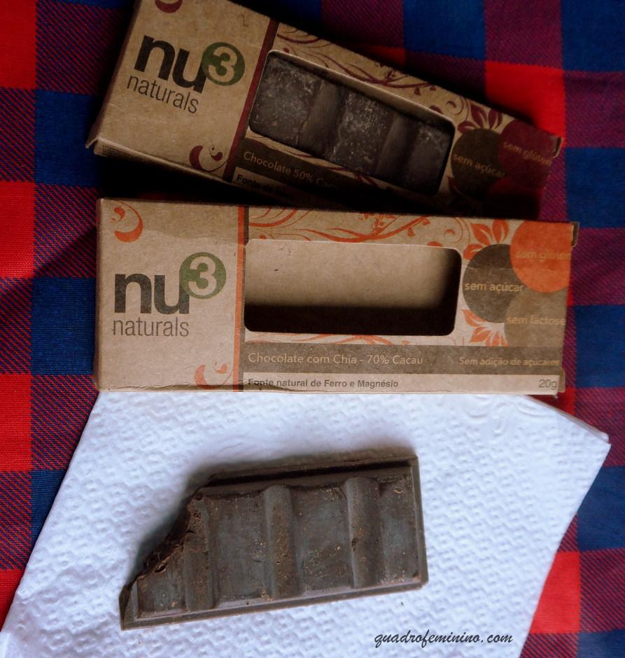 Chocolate com Chia Nu3 - 70 Cacau