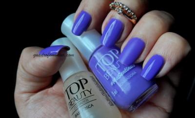 Esmaltes Top Beauty MeSentindo - Sonhadora + Base Fosca