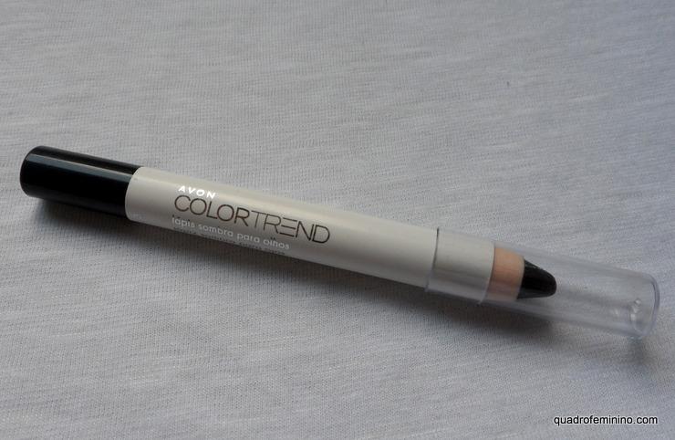 Lápis sombra Avon Color Trend - preto