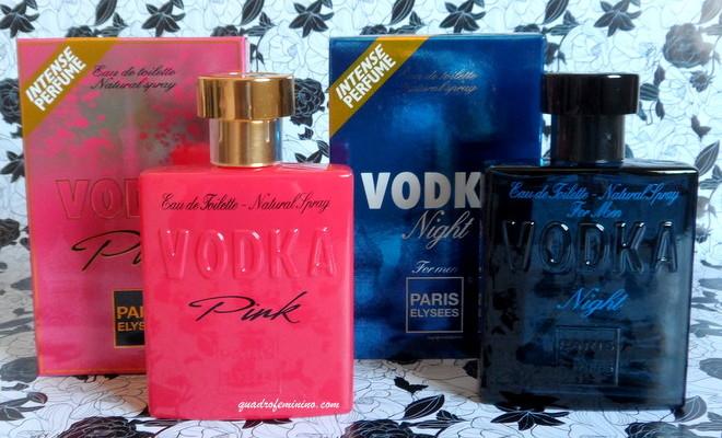 Fragrâncias Paris Elysees - Vodka Pink e Vodka Night