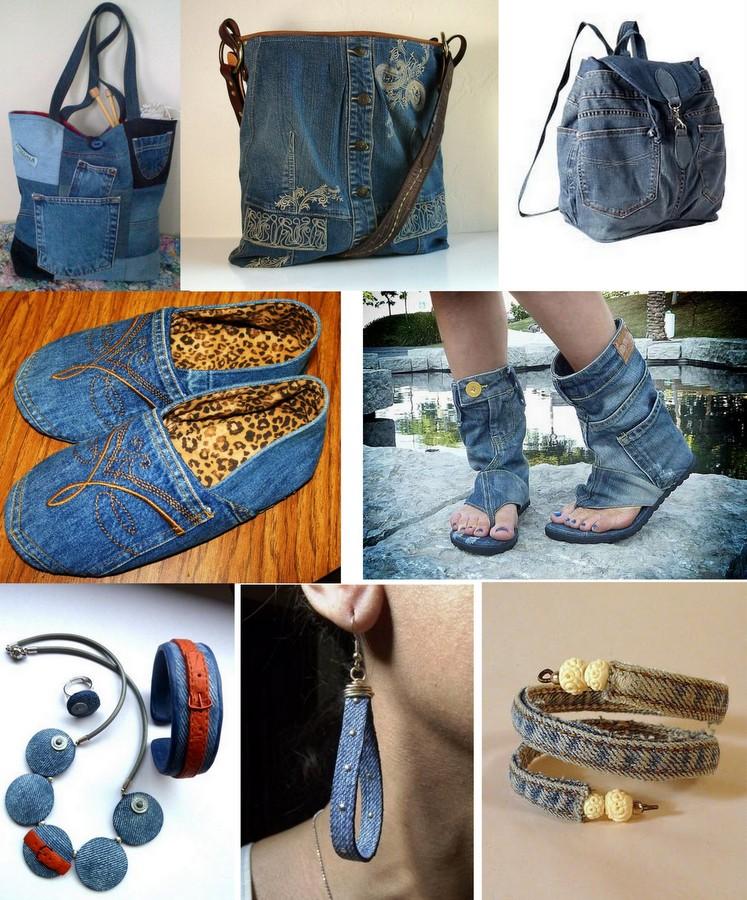 Jeans e acessórios