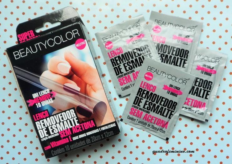 Lenço Removedor de Esmalte Beauty Color