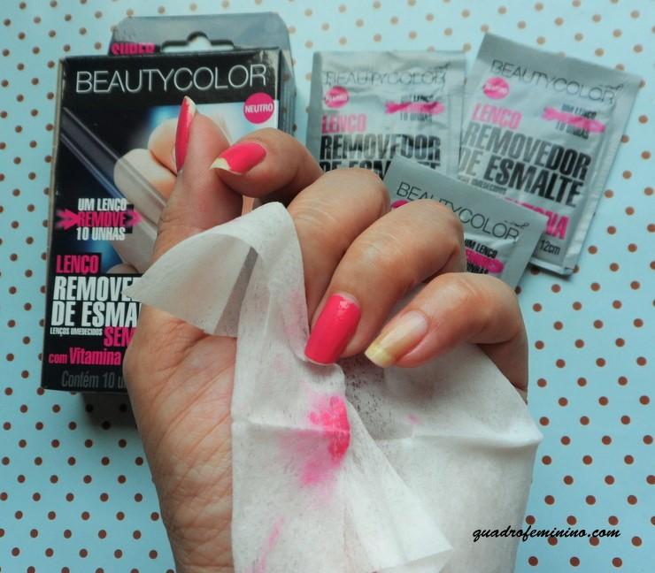 Lenços Removedores de Esmalte - Beauty Color