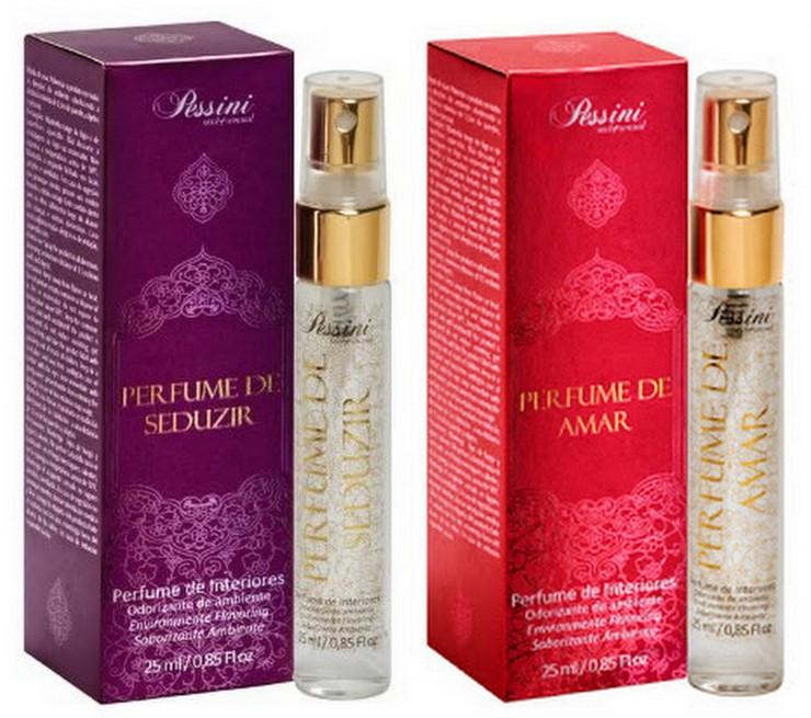 Pessini Cosméticos - Perfumes para ambientes