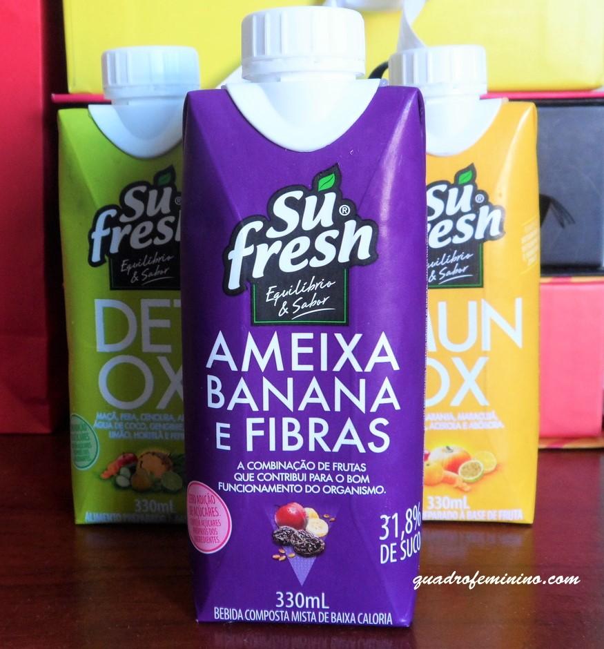 Sufresh Ameixa, Banana e Fibras