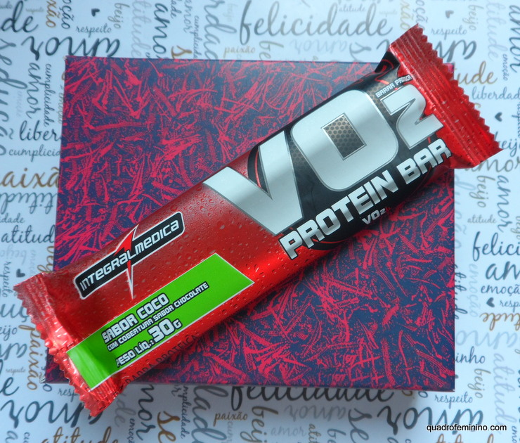 VO2 Protein Bar Sabor Coco Integralmédica
