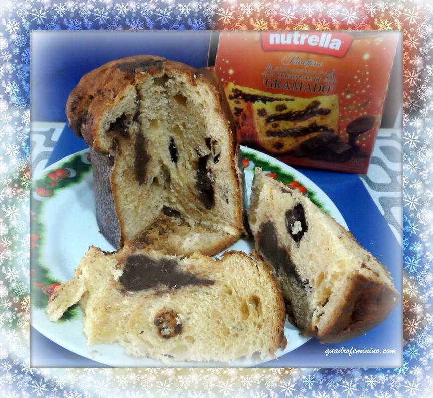 Panetone Nutrella com recheio de chocolate de Gramado(2)