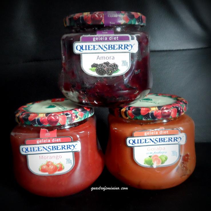 Geleia Queensberry Diet - Amora, Morango e Goiaba