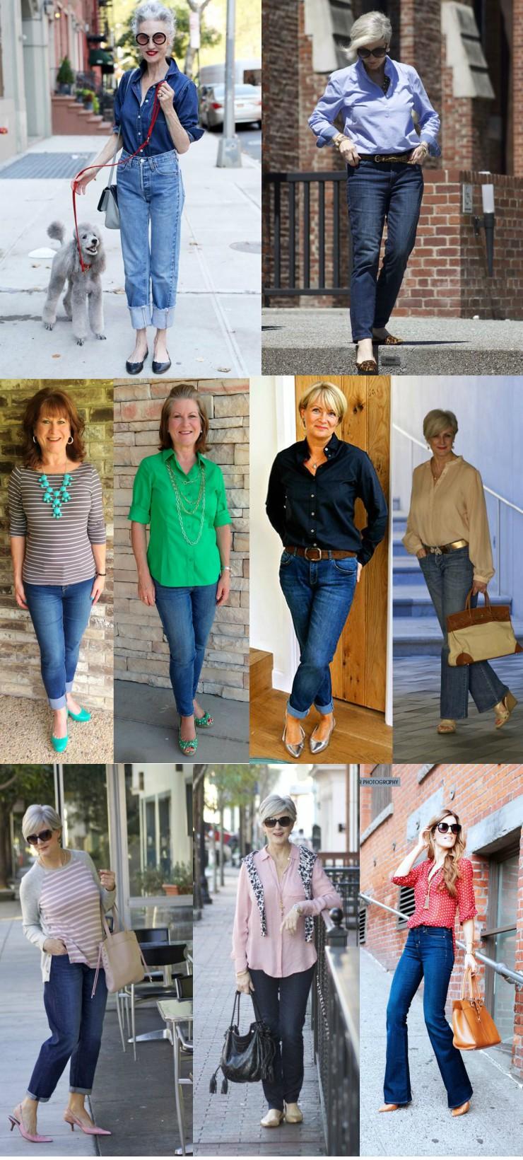 looks-para-mulheres-maduras-jeans