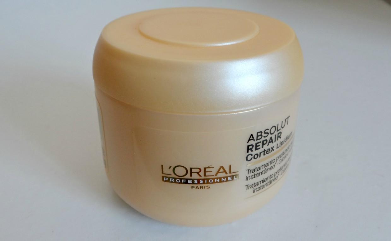 Máscara Reconstrutora Absolut Repair Cortex Lipidium Loreal Profissional - Lacre total!