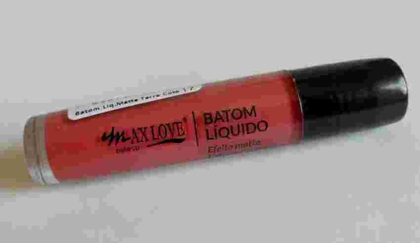 Batom Líquido Matte MaxLove