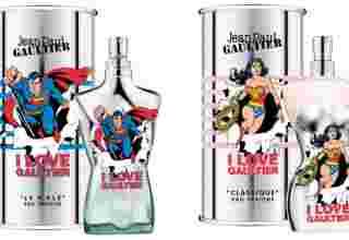 Jean Paul Gaultier -Super Homem e Mulher Maravilha