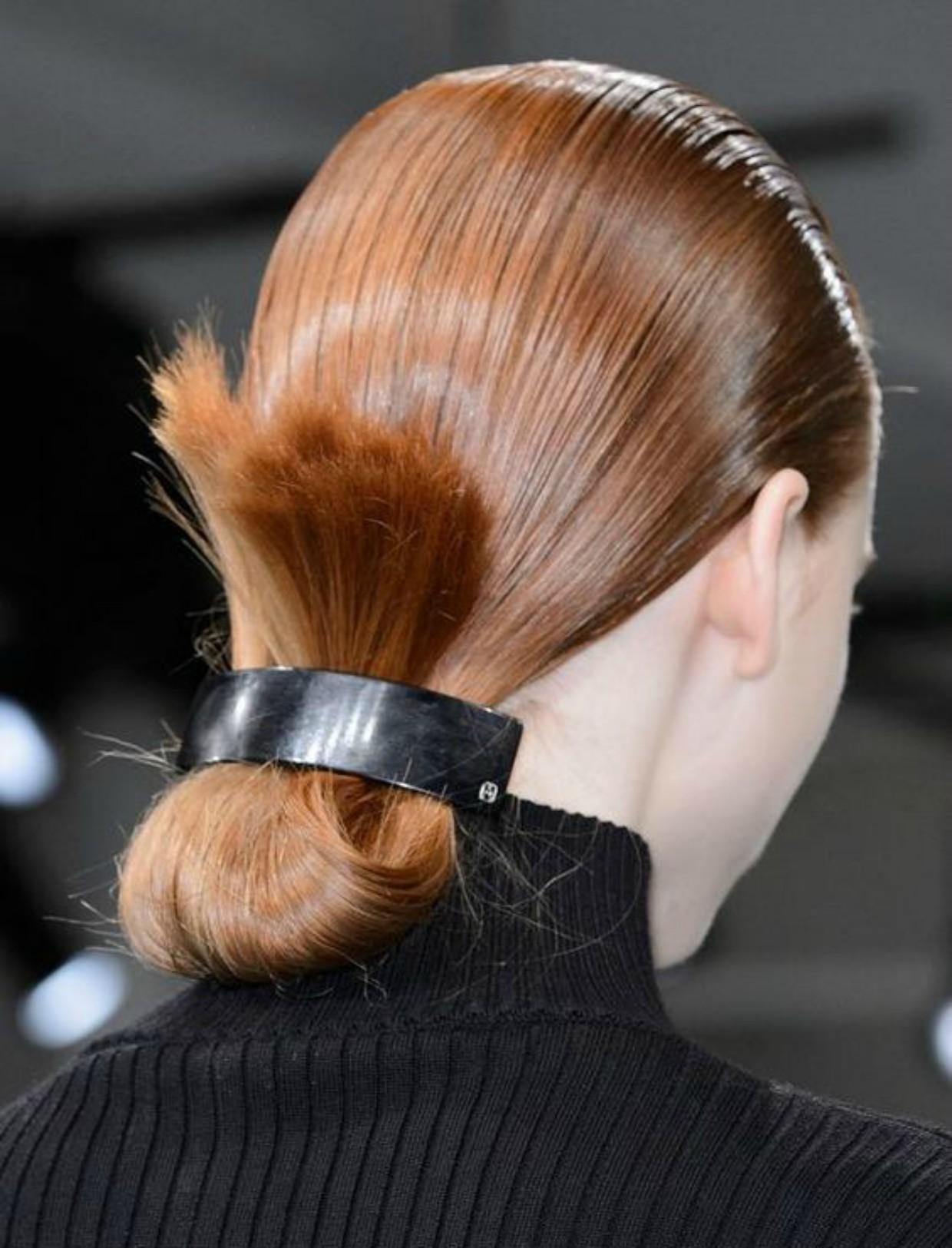 Penteados simples para o dia dia com fivelas
