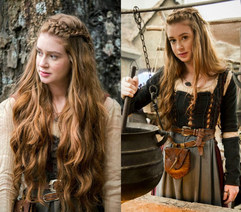cabelos de Amália - novela Deus Salve o Rei -