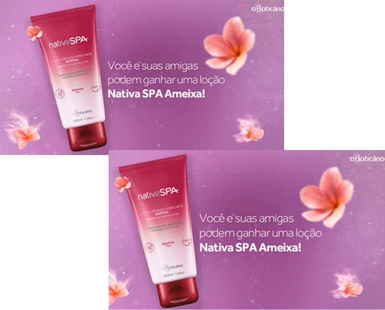 Promoção Nativa SPA Ameixa O Boticário