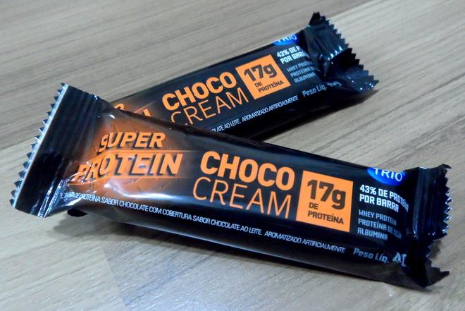 04ebdb958 Home Saúde   Alimentação Barra de Proteína Trio – Super Protein Choco Cream