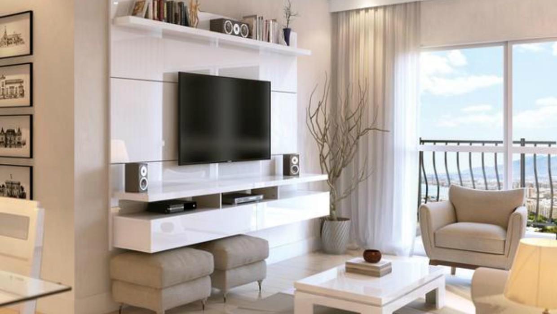 Utilizando o painel para tv em qualquer decora o for Decorando mi sala