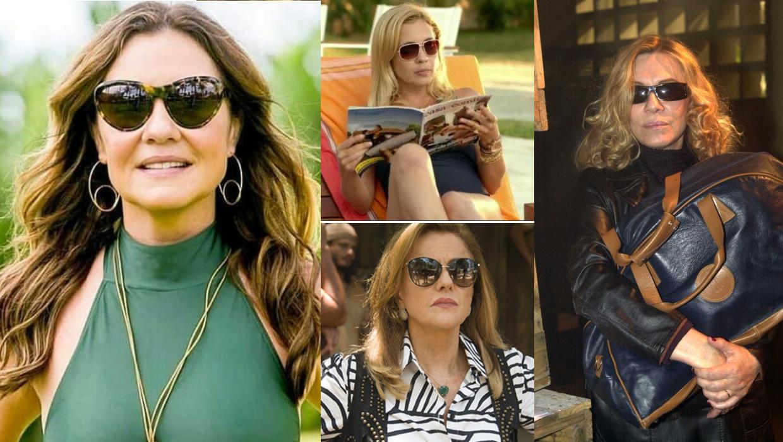 71acb1ffa08ae Home Moda Os óculos de sol das vilãs mais famosas da TV Globo